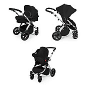 Ickle Bubba Stomp v2 Travel System + Safety Mosquito Net - Black