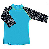 Swimpy UV Shirt Blue 2 to 4 Years