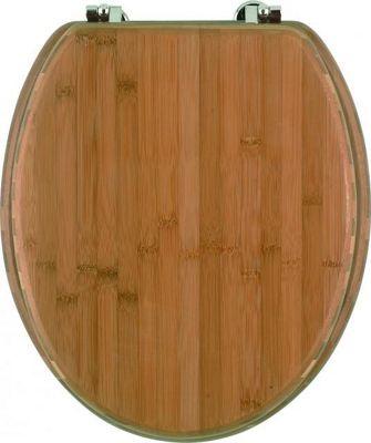 Sanwood Bambus Toilet Seat in Dark