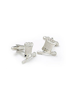 Chefs Hat and Spoon Novelty Themed Cufflinks