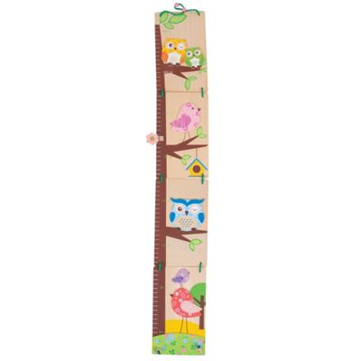 Bigjigs Toys Owl Height Chart - Wooden Growth Chart