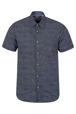 Mountain Warehouse Cactus Mens Printed Short Sleeved Shirt ( Size: M )