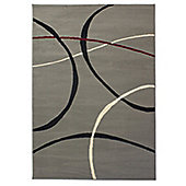 Element Retro 9255 Grey Rug - 120x160cm