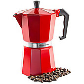 Andrew James 6 Cup Stove Top Coffee Percolator in Red