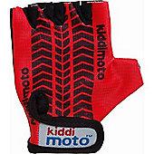 Kiddimoto Gloves Red Tyre (Medium)