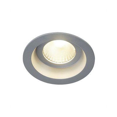Boost 9W Downlight Round Silvergrey 9W LED Warm White