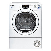Candy Condenser Tumble Dryer, GVCD81B, 8kg load - White