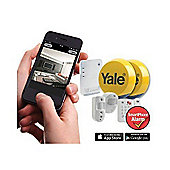Yale Easy Fit EF-KIT3 SmartPhone Wireless Home Security Alarm System Kit