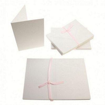 A6 Card Blanks 300gsm 50Pk - White
