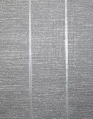 Superfresco Easy Prairie Paste The Wall Charcoal Stripe Textured Wallpaper