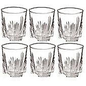 Bormioli Rocco Whisky Spririt Tumbler Glasses - 285ml - Set of 6