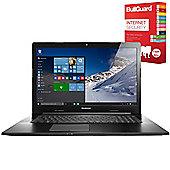 "Lenovo G70-80 80FF00HFUK 17.3"" Laptop With BullGuard Internet Security"