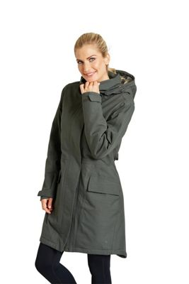 Zakti Rain On Fur Lined Waterproof Coat ( Size: 6 )
