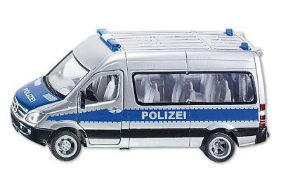 Police Team Van 4.5 - 1:50 Scale - Siku