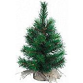 Vancouver Green Mini Christmas Tree - 60cm