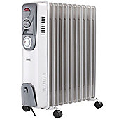 VonHaus 11 Fin 2500W Oil Filled Radiator