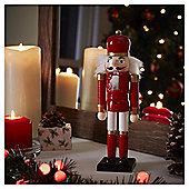 Red Nutcracker Christmas Room Decoration