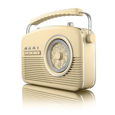 Akai Portable Retro Radio