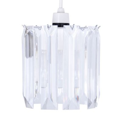 Icicle Acrylic Crystal Ceiling Pendant Light Shade