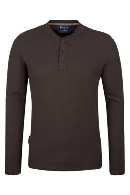 Mountain Warehouse Henley Mens Long Sleeve Top ( Size: XXL )