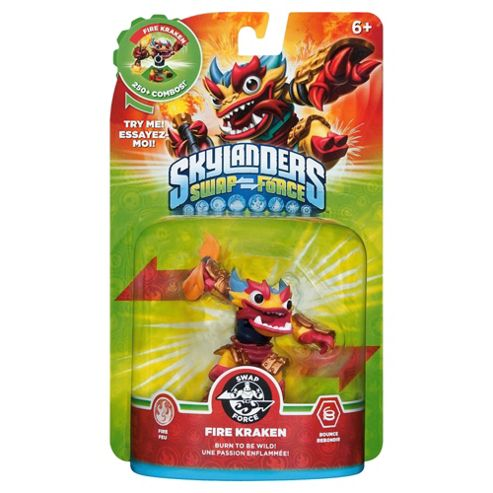 Skylanders Swap Force Character : Fire Kraken