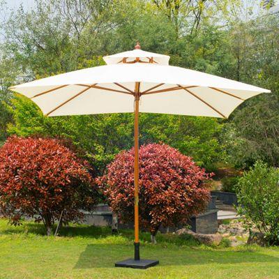 Outsunny 3x3m Garden Umbrella Sunshade Folding Parasol only