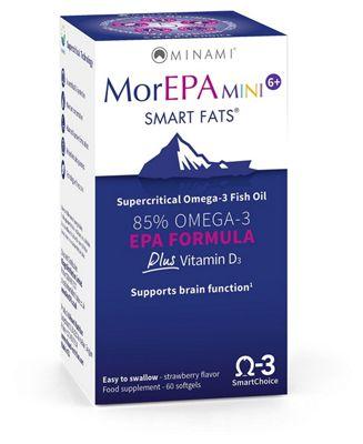 Minami Nutrition MorEPA Mini Smart Fats - 60 Softgels