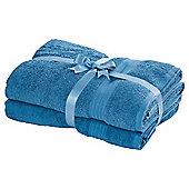 Tesco Hygro Cotton Bathroom Textiles - Lagoon