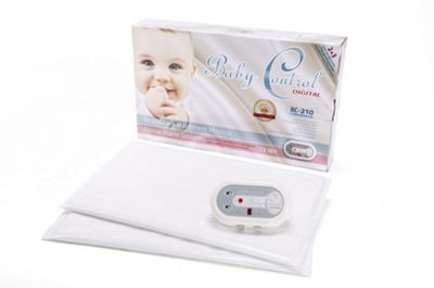 BabyControl BC-210 Breathing Monitor with 2 Sensor Pads