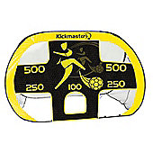 Kickmaster Large Quick Up Goal & Target Shot