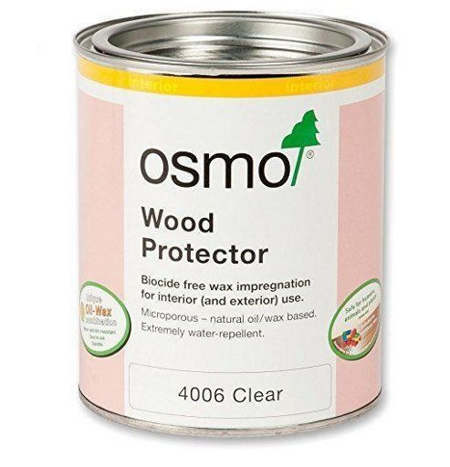 Osmo Wood Protector Interior and Exterior Protection - Clear - 2.5 Litre