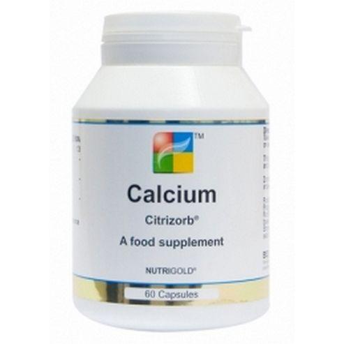 Nutrigold Calcium 100Mg 60 Veg Capsules