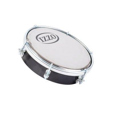 Izzo 6 inch ABS Tamborim - Black