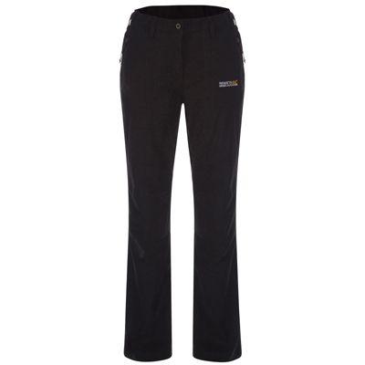 Regatta Ladies Dayhike II Trousers Black 10 Short Leg
