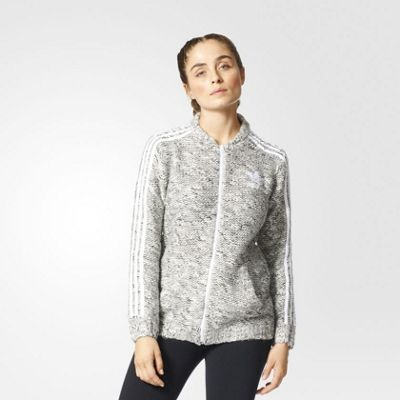 adidas Originals Womens Knit Track Top / Jacket - 16