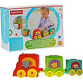 Fisher-Price Stack and Roll Choo Choo Stacker AOY8653