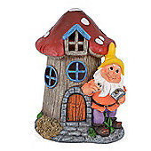 Christow Solar Powered Gnome Toadstool House