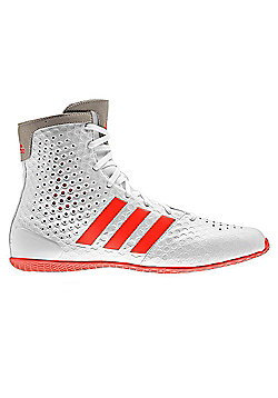 adidas KO Legend 16.1 Boxing Trainer Shoe Boot White/Red - White