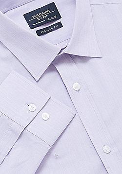 F&F Long Sleeve Regular Fit Shirt - Lilac