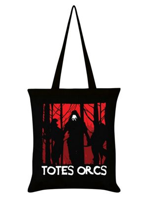 Totes Orcs Tote Bag 38x42cm, Black