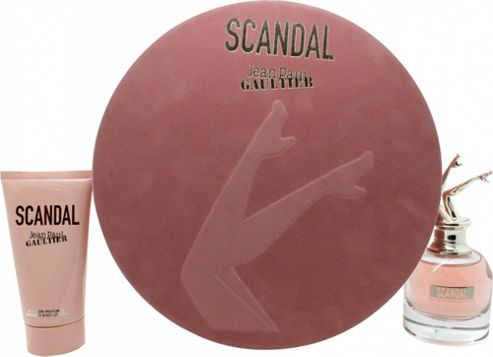 Jean Paul Gaultier Scandal Gift Set 50ml EDP + 75ml Body Lotion For Women