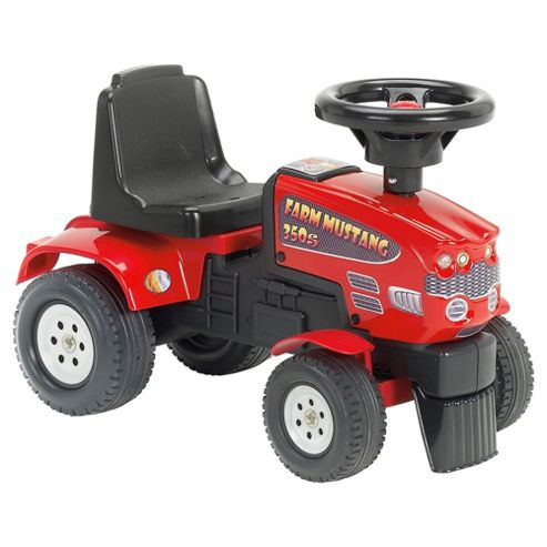 Red Tractor Farm Ride-On