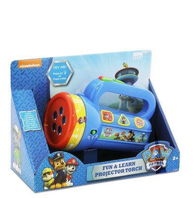 Paw Patrol Fun & Learn Projector Torch