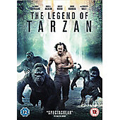 The Legend of Tarzan DVD