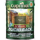 Cuprinol 5 Year Ducksback - Woodland Moss - 5L