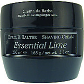 Cyril Salter Luxury Shaving Cream Essential Lime 165g Tub