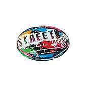 Optimum Street Mini Rugby League Union Ball - Multicolour