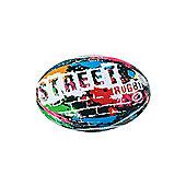 Optimum Street Mini Rugby League Union Ball - Multicolour