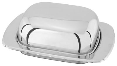 Judge Stainless Steel Domed Butter Dish