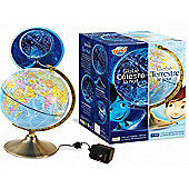 Globe - Day and Night Childrens Science Experiments Blue - BUKI